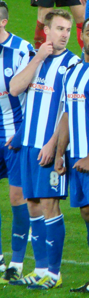 Chris Lines - Lines playing for Sheffield Wednesday in 2012