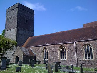 Christchurch, Newport - Image: Christchuch, Holy Trinity