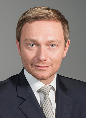 Next German federal election - Image: Christian Lindner FDP 1 (cropped 1)