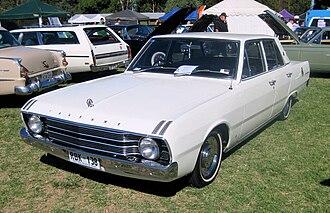 Chrysler Valiant - 1969–70 Chrysler Valiant Regal sedan (VF)