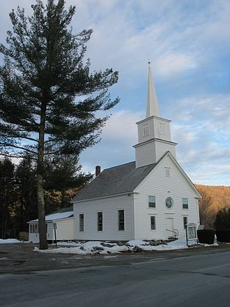 Andover, Vermont - Image: Church in Andover, Vermont