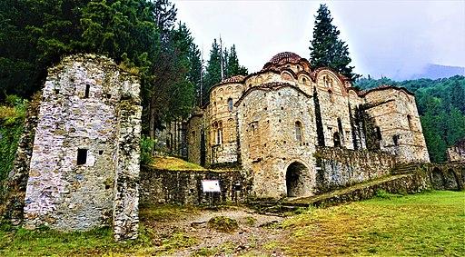 Church of Hodigitria - Afendiko at Mystras