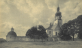 Church of Saint Virgin Mary in Sokal, Austria-Hungary (later Poland, now Ukraine), end of 19-th century.png