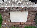 Cigoli, santuario della madonna madre dei bambini, croce caduti 03.JPG