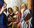 Cima da conegliano, sacra conversazione del duomo di prma, 1507 ca. 04 cterina d'a., apollonia e forse g. evangelista.jpg
