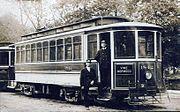Cincinnati Streetcar Trolley Norwood Vine Line Ohio 1910