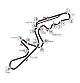 Suzuka Circuit - Simple English Wikipedia, the free encyclopedia