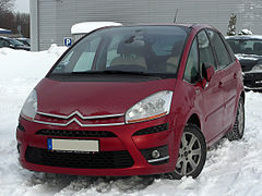 Citroën C4 Picasso I przed liftingiem