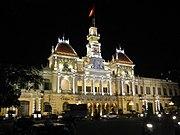 Rathaus von Hồ-Chí-Minh-Stadt im Kolonialstil