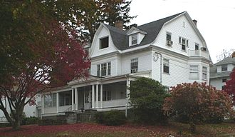 Clarence Burgin House - Image: Clarence Burgin House Quincy MA 02