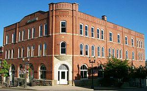 St. Clairsville, Ohio - The Clarendon Hotel