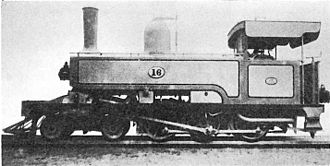 South African Class C 4-6-0T - Works picture, NGR Class G no. 16