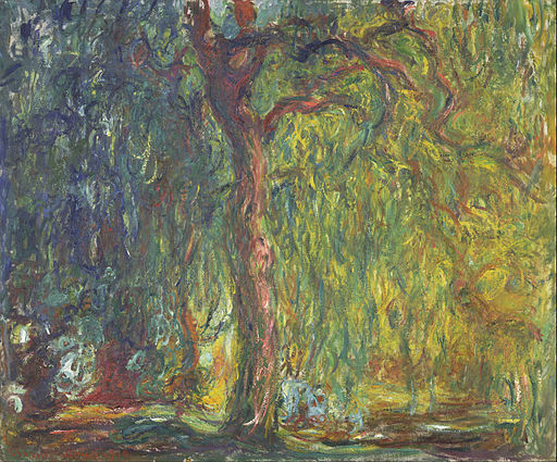 Claude Monet - Weeping Willow - Google Art Project