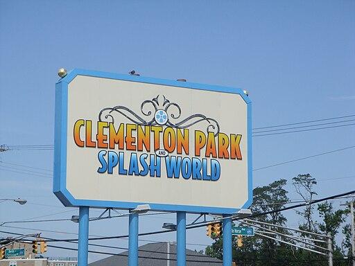 Clementon Park sign