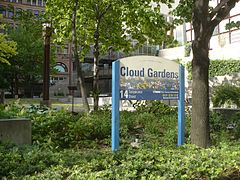 Cloud Gardens sign.JPG