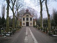 Cmentarz Bozego Ciala w Poznaniu. Kaplica. Front.JPG