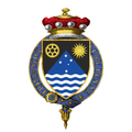 Coat of Arms of Richard Casey, Baron Casey, KG, GCMG, CH, DSO, MC, PC.png