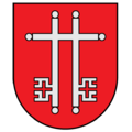Coat of arms of Žagarė.png