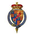Coat of arms of Charles Beauclerk, 1st Duke of St Albans, KG.png