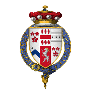 Thomas Darcy, 1st Baron Darcy of Chiche - Arms of Sir Thomas Darcy, 1st Baron Darcy of Chiche, KG