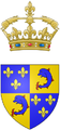 Coat of arms of the Dauphin of France (small version).png