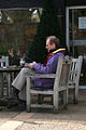 Coffee Break At RHS Wisley Garden Surrey UK.jpg