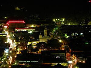 Cojutepeque - Cojutepeque de noche