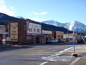 Coleman, Alberta - Image: Coleman, Alberta