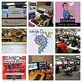 Collage de Fotos de eventos Wiki en la Biblioteca Daniel Cosío Villegas.jpg