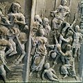 Collectie Nationaal Museum van Wereldculturen TM-20029803 Reliefs op graven op de oude Joodse begraafplaats Beth Haim Curacao Boy Lawson (Fotograaf).jpg