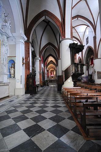Collegiata of San Fiorenzo, Fiorenzuola d'Arda - The church's interior