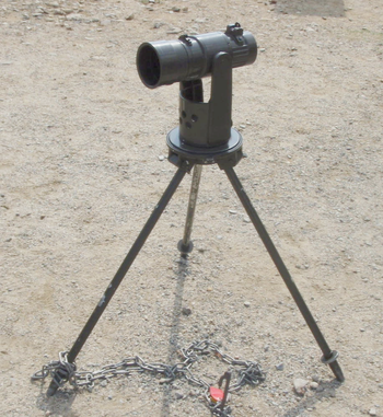 English: collimator(mortar weapon)