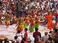 Celebrating Pohela Boishak.