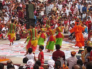 Pahela Baishakh - Colorful celebration of Pahela Baishakh in Dhaka.
