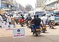 Combination of Bodabodas and Taxis in Kampala.jpg