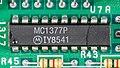 Commodore Amiga 1000 - main board - Motorola MC1377P-9003.jpg