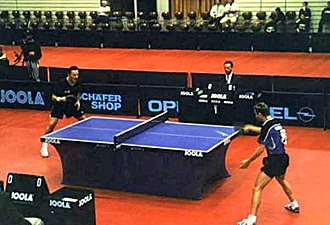 Table tennis - Competitive table tennis