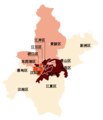 Confirmed COVID-19 cases in Wuhan by Administrative divisions.png