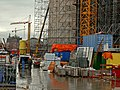 Constructions and scaffolding at the Oosterdokseiland, Amsterdam-Centrum.jpg