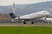 Contact Air Fokker F100 D-AGPH Zurich International Airport.jpg