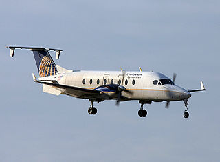 Beechcraft 1900 Commuter airliner and light transport aircraft