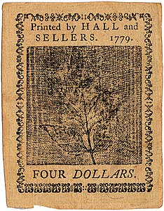 Continental Currency $4 banknote reverse (January 14, 1779).jpg