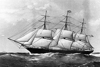 <i>Coonatto</i> (clipper ship) 1863 clipper ship