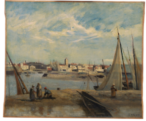Dunkirk, view of the fishing port