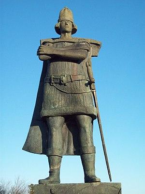 Gaspar Corte-Real - Image: Corte Real statue