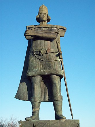 Gaspar Corte-Real - A statue of Gaspar Corte-Real, located in the city of St. John's, Newfoundland.