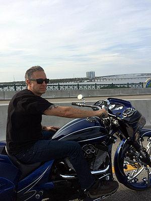 Cory Ness - Cory in Daytona 2014