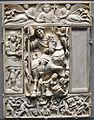 Costantinopoli, valva di dittico con imperatore in trionfo, forse giustino (avorio barberini), 500-550 ca..JPG
