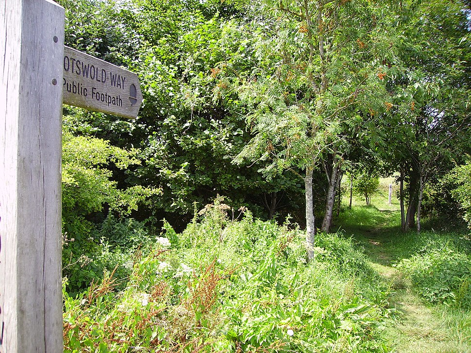 Cotswold Way at Battle of Lansdown