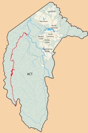 Cotter River - Image: Cotter River